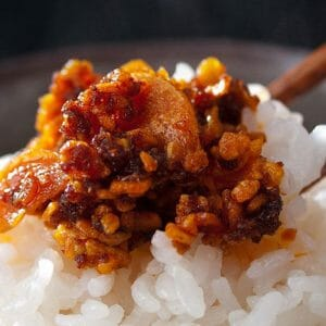 日本酥香蒜片杏仁辣油(三入)